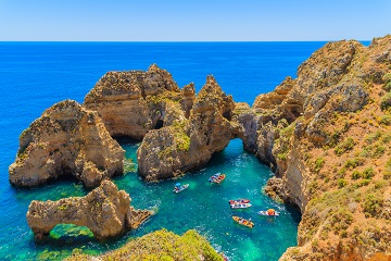 Legszebb tengerpartok: Jökulsárlón, Vik, Óriások útja, Algarve